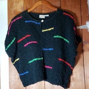 Liz Claiborne Crop Sweater